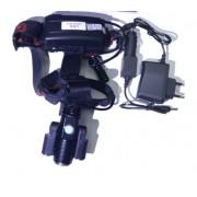 Налобный светодиодный фонарь MX-KK652-T6 (Черный)