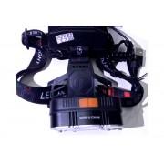 Налобный светодиодный фонарь MX-KKC3-T6 (Черный)
