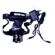 Налобный светодиодный фонарь MX P50 (Черный)