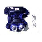 Налобный светодиодный фонарь MX Rechargeable (Черный)