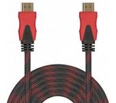 Кабель MRM-POWER HDMI-HDMI M/M CCS 20м (Черно-красный)