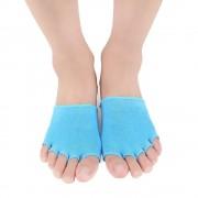 Носки гелевые на передний отдел стопы Moisturize Gel 1/2 RZ-631 (Синий)