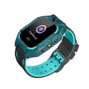 Умные детские часы с телефоном и GPS трекером Smart Watch Q19 (Зеленый)