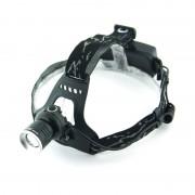 Налобный LED фонарь GL-5836 (Черный)