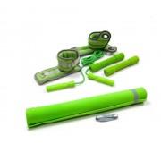Комплект принадлежностей для занятий фитнесом TR-015 (Зеленый)