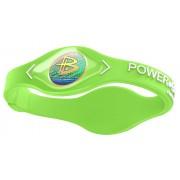 Браслет Power Balance SP-010, размер M (Зелено-белый)