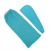 Парео женское для бани и сауны Главбаня TDK-099 (Синий)