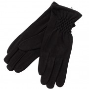 Перчатки женские на флисе RZ-572, размер L (Черный)