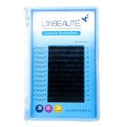 Ресницы для наращивания Lilly Beaute 0.07 D (Черный)