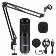 Конденсаторный микрофон BM-800 в комплектации (Черный)