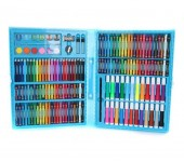 Набор для рисования Super Mega Art Set на 168 предметов (Голубой)