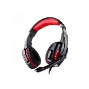 Проводные игровые наушники с микрофоном Kotion Each G9000 (Черно-красный)