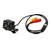 Камера заднего вида ET-6168, LED подсветка (Черный)