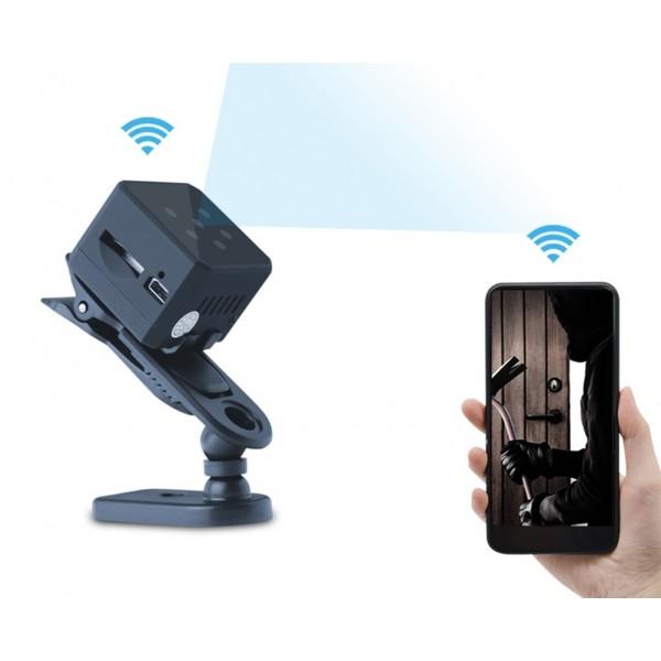 Мини камера для видеонаблюдения c Wi-Fi MD28 (Черный)