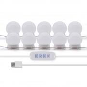 Светодиодный светильник для зеркала 10 LED ламп (Белый)