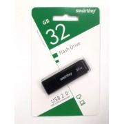Флешка USB 2.0 Smartbuy 32GB (Черный)