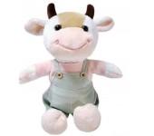 Мягкая игрушка Бычок 24см (Белый)