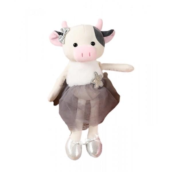 Мягкая игрушка Коровка в юбке 22см (Белый)