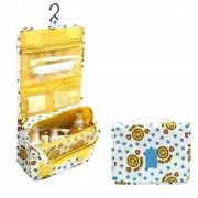 Дорожная сумка для туалетных принадлежностей (Бело-желтый)