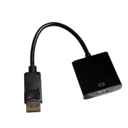 Адаптер DP to HDMI (M/F) 25см (Черный)