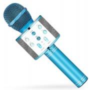 Караоке-микрофон Wster WS-858 (Голубой)