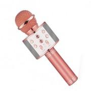 Караоке-микрофон Wster WS-858 (Розовое золото)