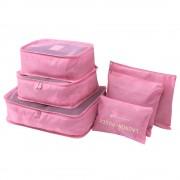 Комплект органайзеров Laundry Pouch (Розовый)