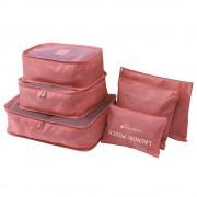 Комплект органайзеров Laundry Pouch (Красный)