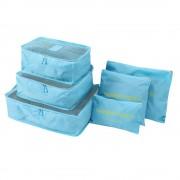 Комплект органайзеров Laundry Pouch (Голубой)