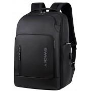 Мужской рюкзак Swicky на 25 л (Черный)