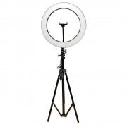 Светодиодная кольцевая лампа Ring Lamp 36см  со штативом (Черный)