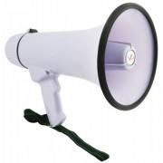 Ручной мегафон без микрофона HW-20 (Белый)