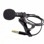 Петличный микрофон Vonk ER09 jack3,5мм (Черный)
