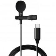 Петличный микрофон Vonk ER09 USB Type-C (Черный)