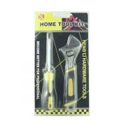 Набор хозяйственный Tool Kit 2 предмета (Черно-желтый)