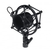 Держатель микрофона Паук металлический (Черный)
