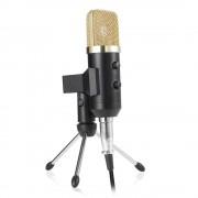 Конденсаторный микрофон BM-750 (Черно-золотистый)