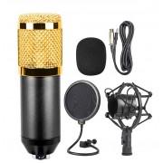Конденсаторный микрофон в комплектации BM-800 (Черно-золотистый)