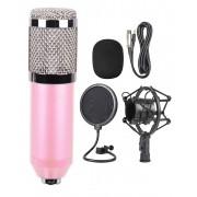 Конденсаторный микрофон в комплектации BM-800 (Розовый)