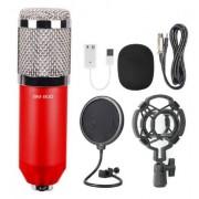 Конденсаторный микрофон в комплектации BM-800 (Красный)