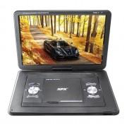 Портативный DVD-плеер с тюнером XPX EA-1767L (Черный)