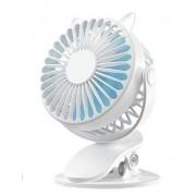 Портативный вентилятор с прищепкой XH-09 (Белый)