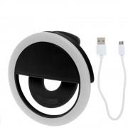 Селфи лампа на смартфон M06 (Черный)