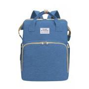 Детская сумка-кроватка (Синий)