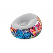 75075 Кресло надувное Graffiti 112 см x 112 см x 66 см
