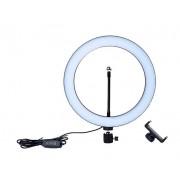 Светодиодная кольцевая лампа MT-260 26см (Черный)