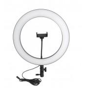 Светодиодная кольцевая лампа L36 36см (Черный)