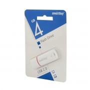 Флешка USB 2.0/3.0 Smartbuy 4GB (Белый)