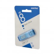 Флешка USB 2.0 Smartbuy Crown 8GB (Синий)