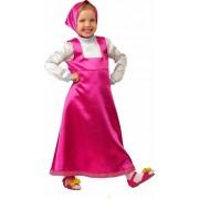 Карнавальный костюм Маша, размер М (Малиновый)
